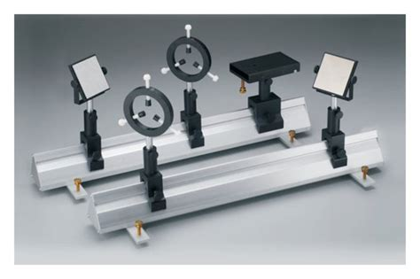 optical bench complete optical bench system standard pin carriers