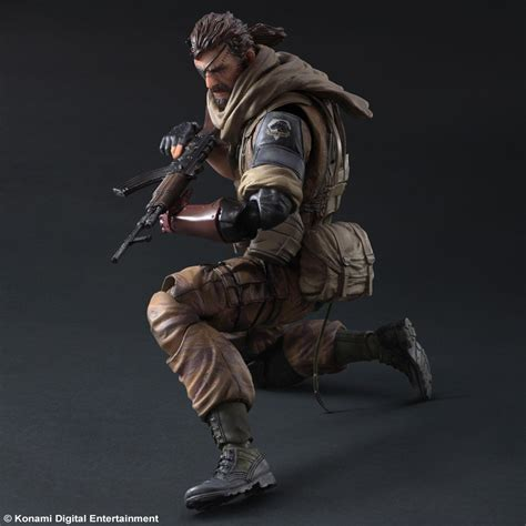 Metal Gear Solid Phantom Venom Snake Play Arts square enix unveils new play arts metal gear solid v