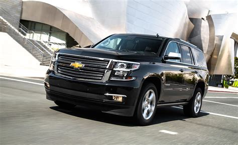 chevrolet tahoe ltz 2015 car and driver