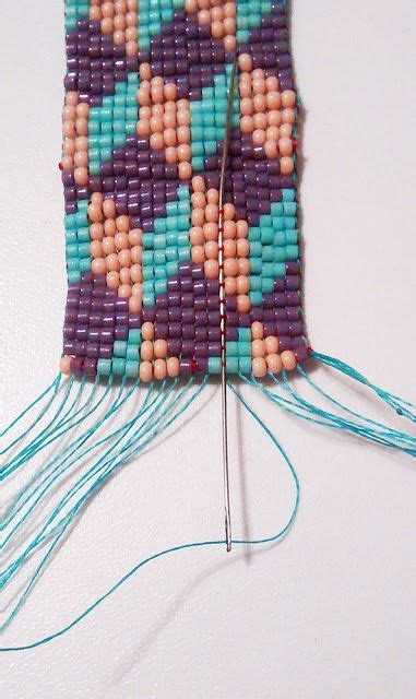 how to finish loom beading best 25 bead loom bracelets ideas on loom