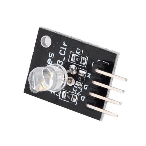 3 Color Rgb Led Sensor Module rgb 3 color led module for arduino green blue us 1 27