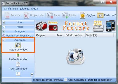 juntar imagenes html como juntar dois v 237 deos ou mais com o formatfactory seu