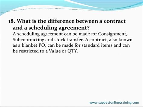 Difference Between Contract And Outline Agreement by Sap Mm India Hyderabad Sap Mm Project Support Sap