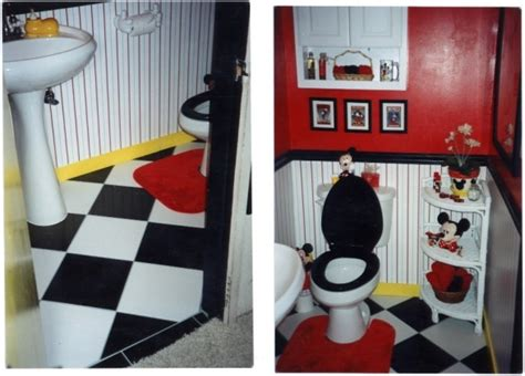 Mickey Mouse Bathroom Ideas Pin By Brock On Bathroom Cuteness Pinterest