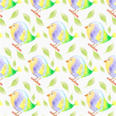 pattern watercolor photoshop watercolor bird pattern photoshop vectors brushlovers com