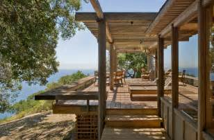 big sur cabin with mid century accent pieces and earth