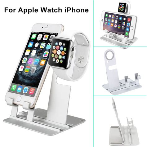 Watch Station Gift Card - aluminum charging dock station holder stand for iwatch iphone apple watch ebay
