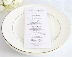 Elegant Dinner Party Menu by Fancy Dinners Invotes Party Invitations Ideas