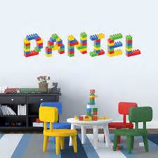 lego wall stickers for rooms lego wall stickers ebay