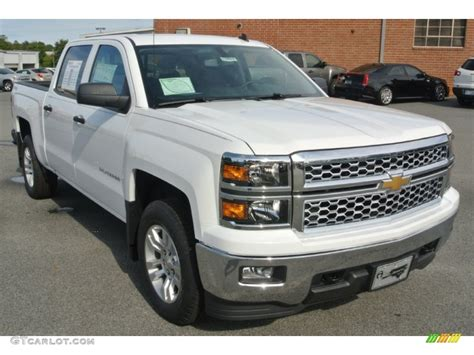 2014 silverado colors 2014 summit white chevrolet silverado 1500 lt crew cab 4x4