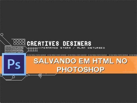 link interni html salvando em html no photoshop link interno