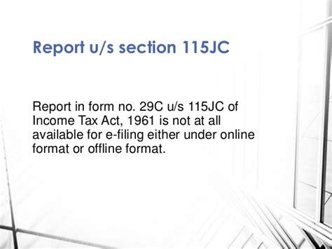 section 10 11 of income tax e filingofvariousauditreportsunder incometax