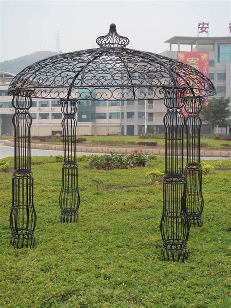 metal garden pergola metal garden gazebo china refine industry ltd