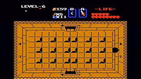 the legend of zelda walkthrough level 6 the dragon the legend of zelda nes walkthrough part 8 level 6