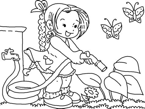 Flower Garden Coloring Pages For by Free Printable Flower Garden Coloring Pages Get This