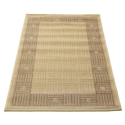 flat weave polypropylene rugs hufflett 80 x 150cm border bone ceduna polypropylene flat weave rug