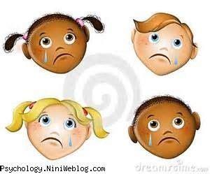 imagenes de caras tristes alegres کودک اضطراب ترس