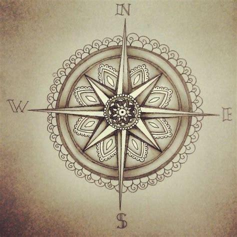 compass tattoo einfach beautiful mandalas and tattoo ideen on pinterest