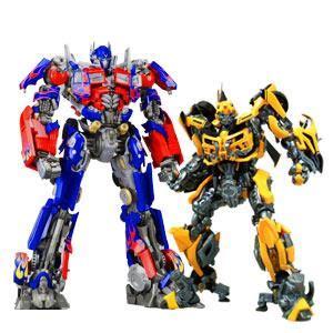 jual 2 unit robot transformer bisa di ubah bentuk mobil harga murah medan oleh pt raksasa indonesia
