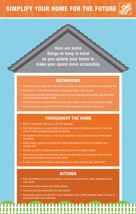 simplify your home the home depot simplifying your home for the future