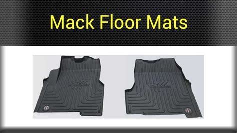 Semi Truck Floor Mats by Mack Interior Parts Big Rig Chrome Shop Semi Truck
