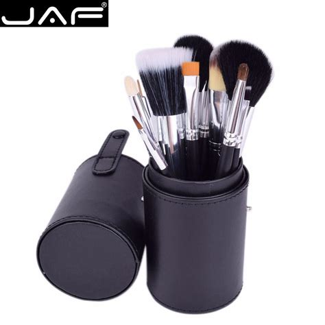 aliexpress makeup aliexpress com buy jaf brand 12 pcs makeup brushes kit