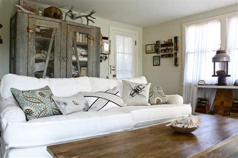 style house salon style shabby chic id 233 es inspirantes pour la salle de s 233 jour