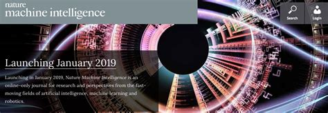 intelligent design nature journal nature s machine intelligence journal to launch in jan 2019