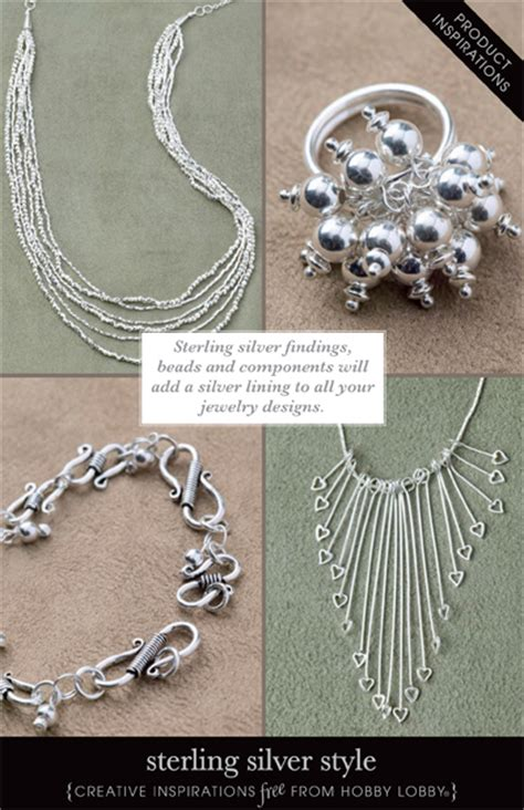 hobby lobby jewelry hobbylobby projects sterling silver style