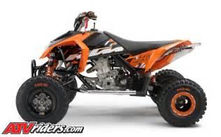 2009 Ktm 450 Sx Atv Ktm Introduces 450sx Atv 505sx Motocross Atvs