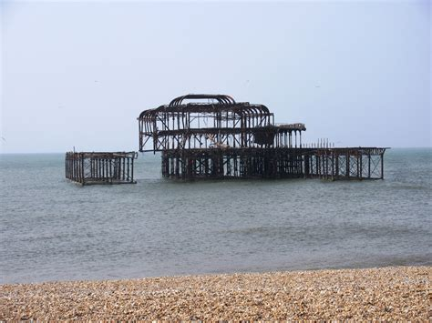 pier west liberal england the last days of brighton s old west pier