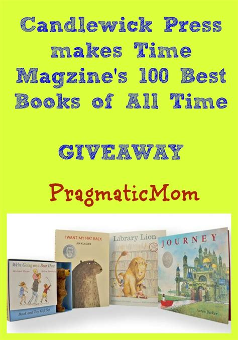 best picture books of all time candlewick press best books of all time pragmaticmom