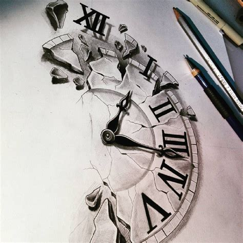 time tattoo pin by nick bauer on tattoos time tattoos