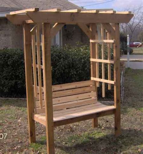 arbor with bench plans 18 diy projects for the homestead using 2x4s