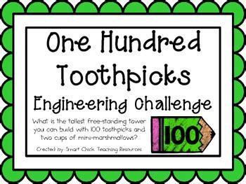 toothpicks engineering challenge project great stem activity