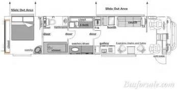 prevost floor plans gallery for gt prevost motorhomes floor plans