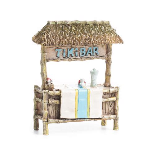 Miniature Tiki Hut Miniature Tiki Bar Dining Room Miniatures Dollhouse
