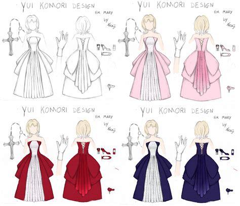 Color For Sleep yui komori dress design colored by xfeajix on deviantart