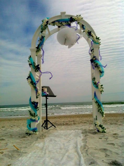 Wedding Arch   Best Beach Wedding Guides for Florida
