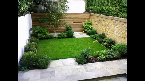 cool small backyard ideas cool small back garden designs youtube
