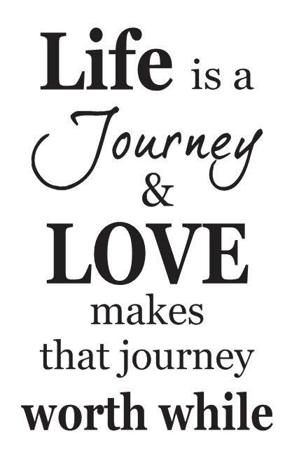printable journey template primitive stencil life is a journey love makes that