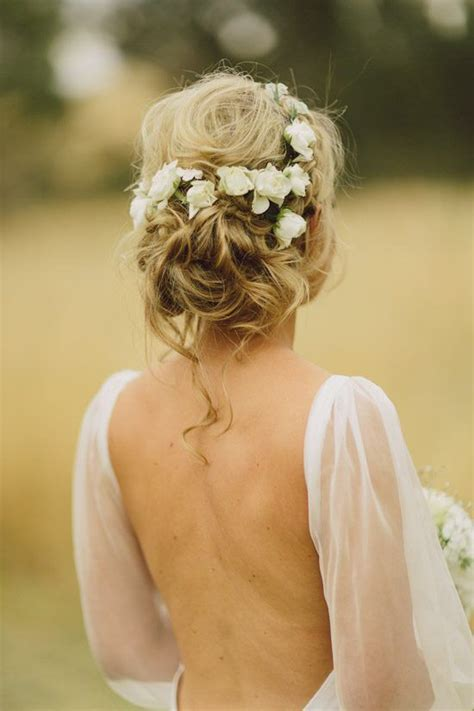 Wedding Hair Updos Flowers by 36 Wedding Hairstyles That Inspire