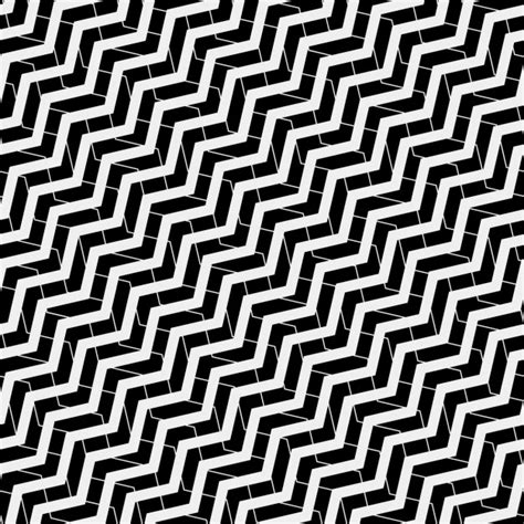Zig Zag Pattern Painting | op art pattern with zig zag lines vector free download