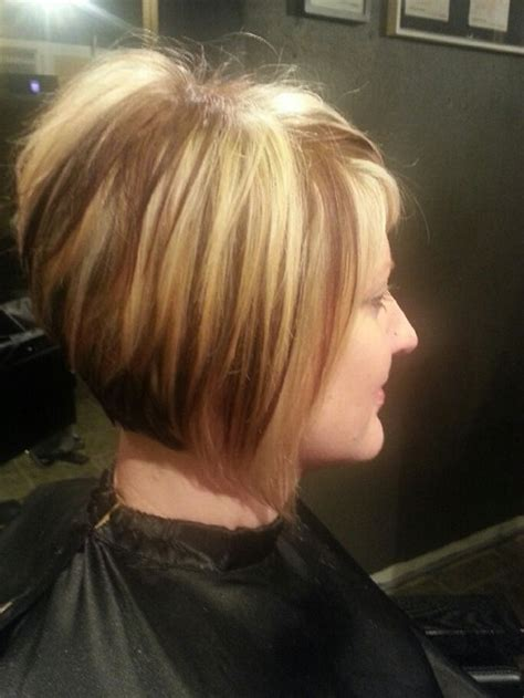 how to cut stacked hair in back stacked short haircuts