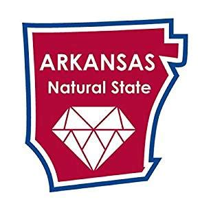 Arkansas State Mba Reviews by State Ments Sticker Arkansas