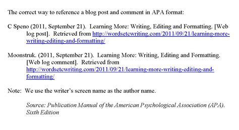 apa format exle website writing exploring communication on all levels