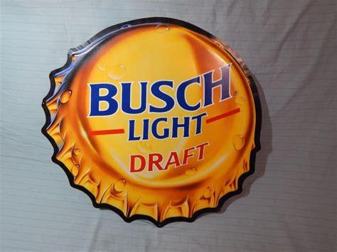 busch light tin sign busch light beer sign for sale classifieds