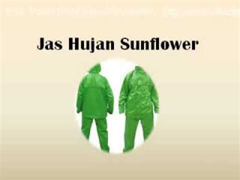 Jas Termurah Jas Hujan Sunflower