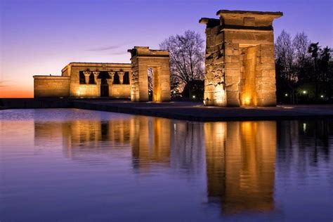 temple of debod madrid spain the temple of debod madrid