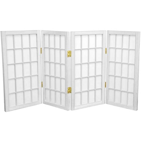 indoor privacy screen living room furniture shop furniture 4 panel white folding indoor